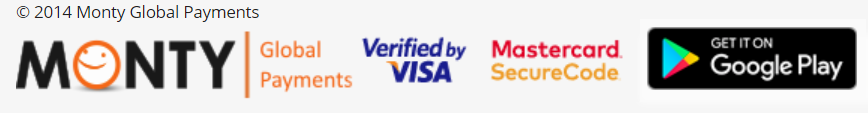 enviar dinero con monty y visa